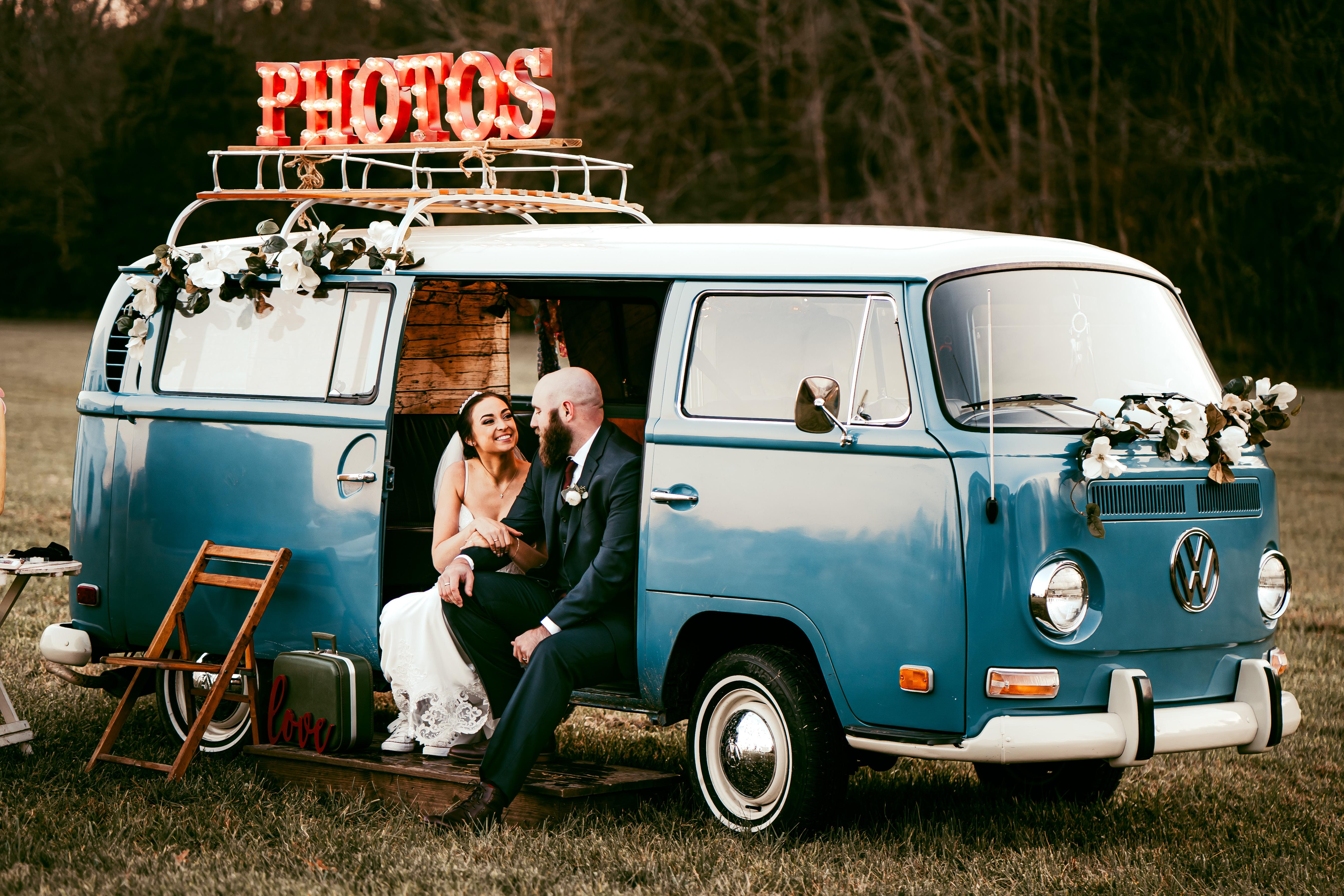 veritas photobus perfect for a unique photobooth wedding experience