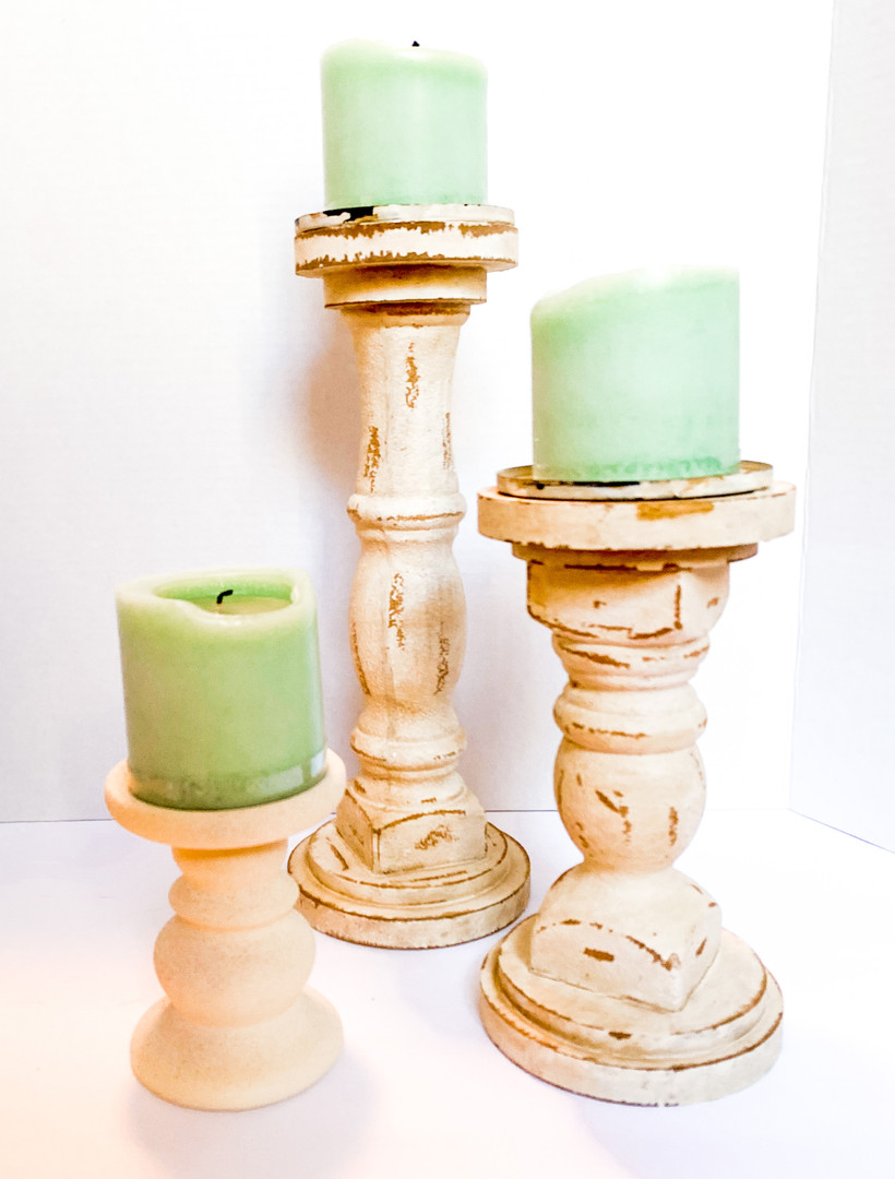 Warm cream Pillars (3)