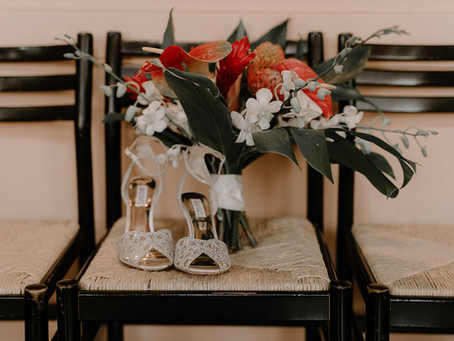 Intimate Caffe Luna Wedding in Downtown Raleigh