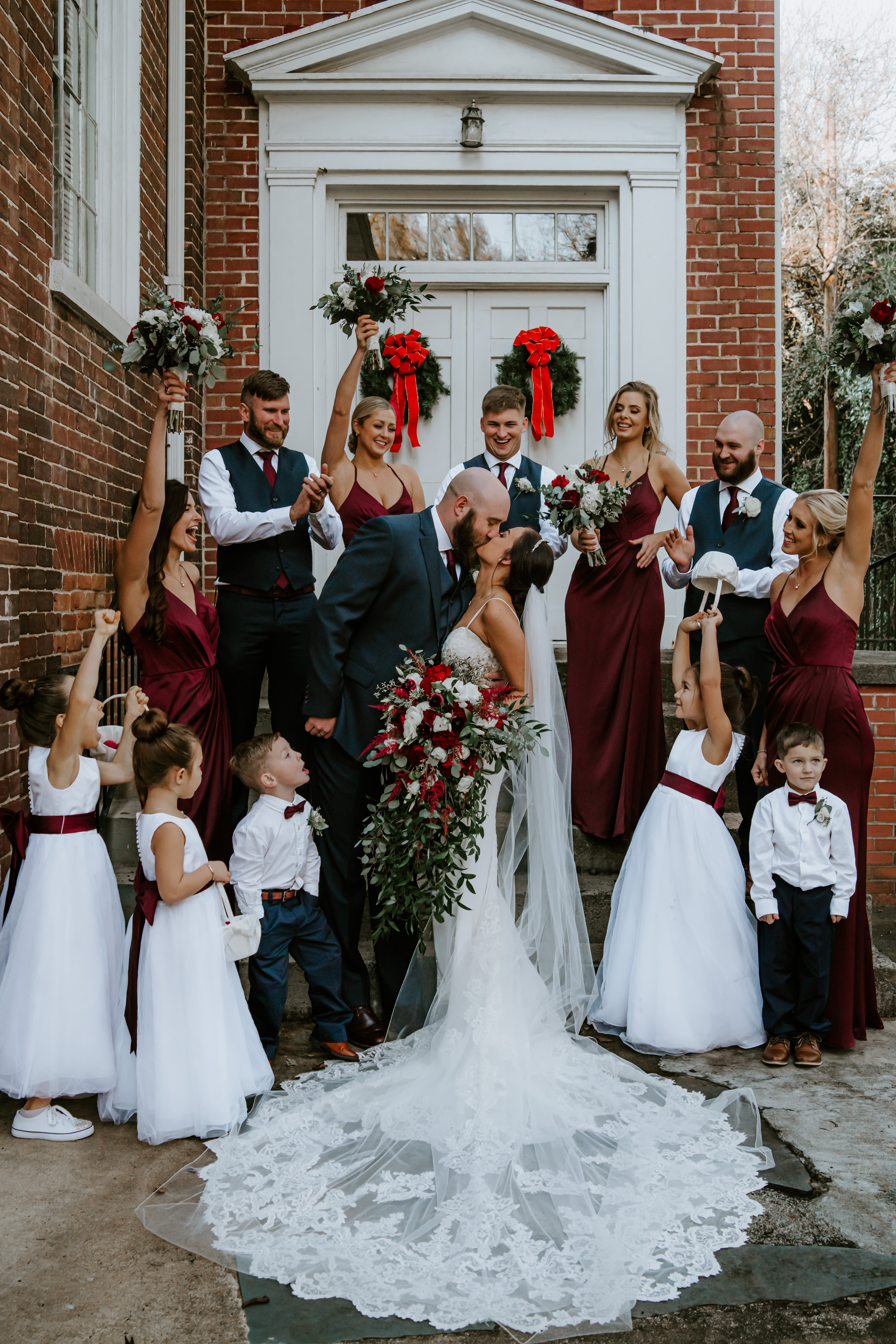 bridesmaid dresses on a budget and unique groomsmen suits