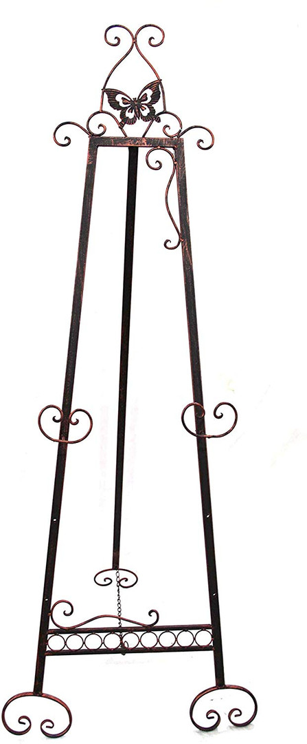 Black Iron Butterfly Easel (1)