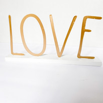 Miniature Gold LOVE