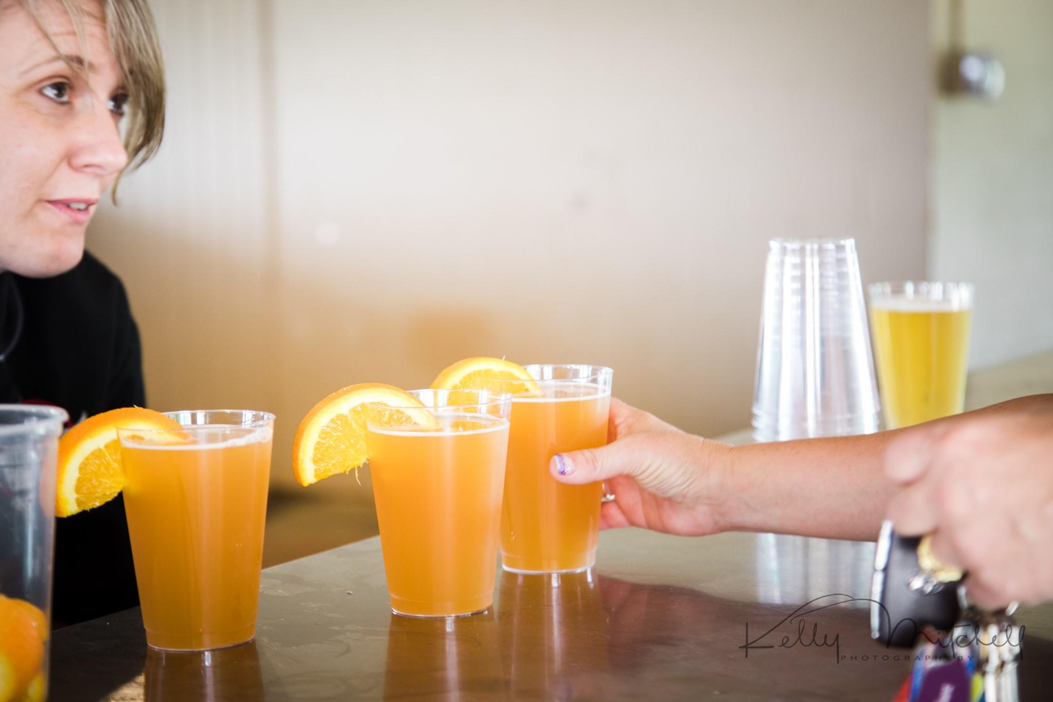 orange crush signature wedding cocktail, maryland wedding, blue moon signature wedding cocktail, eas