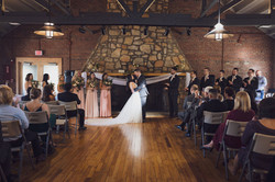 Nine19 Photography Raleigh North Carolina WeddingPhotographer stone fireplace outdoor and rustic wed