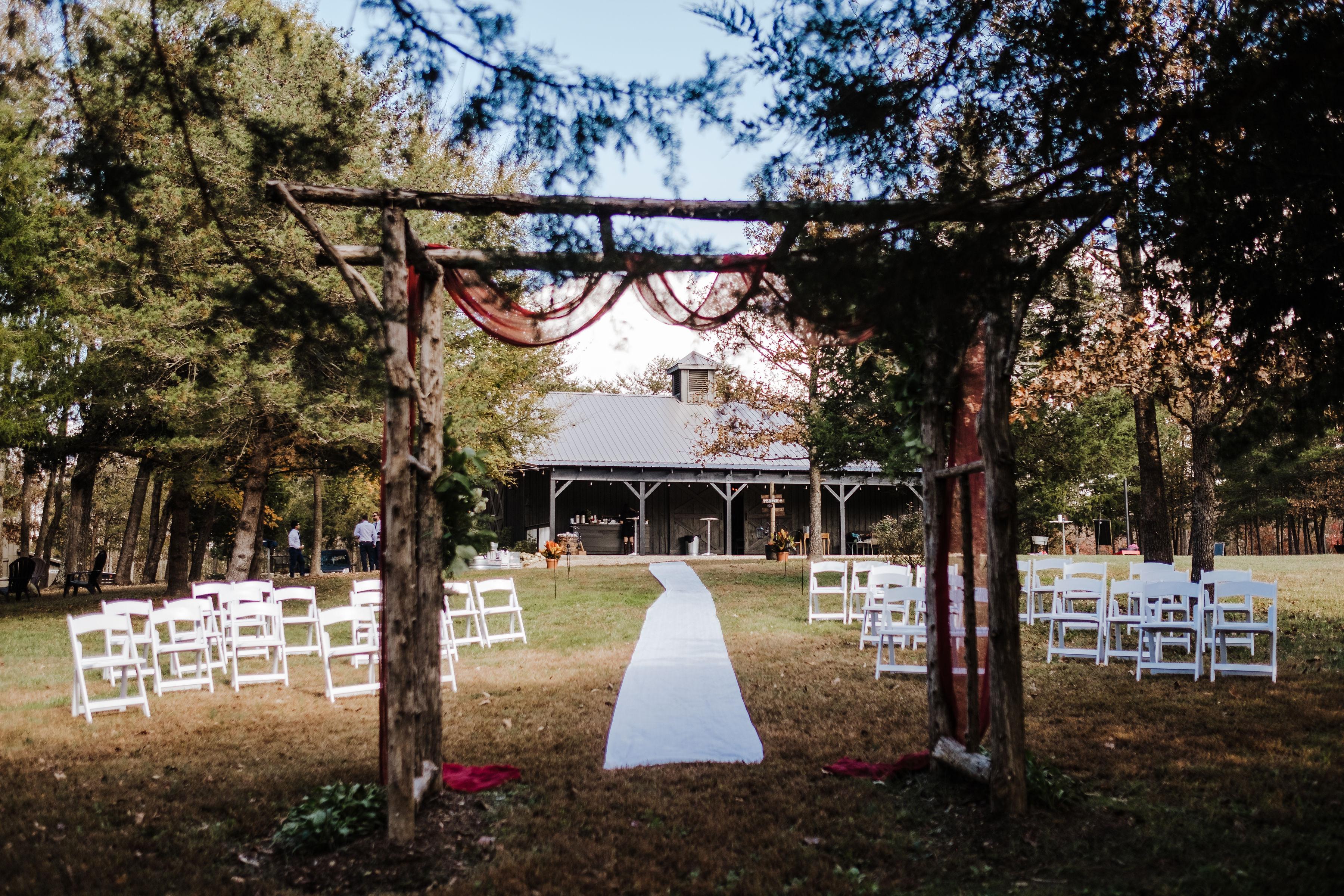 budget friendly fall wedding