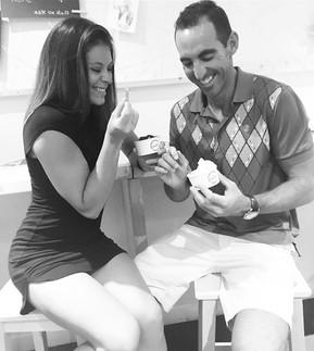 wedding ice cream instead of cakes