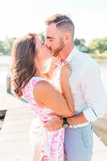 engagement photos by traveling wedding photographer