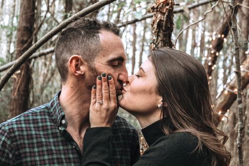 engagement photos in raleigh north carolina