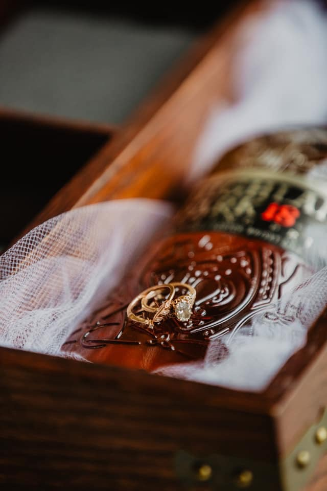 bourbon box wedding tradition wedding bands on bourbon