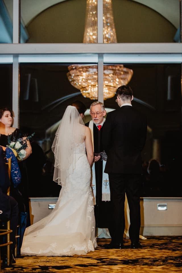 triangle wedding ceremonies performing a penthouse wedding ceremony in downtown raleigh wedding venu