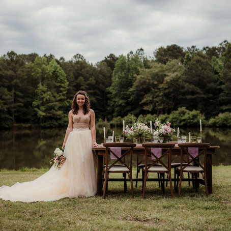 Wildest Dreams- Ethereal Lakeside Styled Shoot