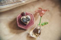 bride and groom rings wedding details