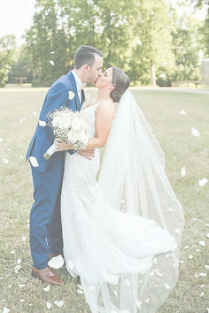 Ashley and Josh Wedding Day Flower Exit