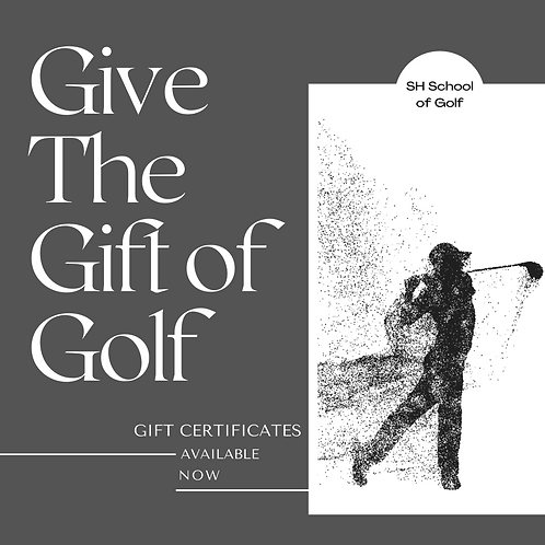 Adult & Youth Buddy Lesson Gift Certificate