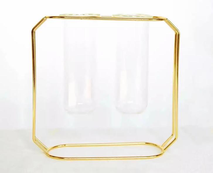 Double Test Tube Vase (5)