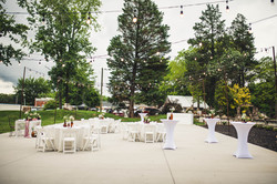 the victorian youngsville set for intimate wedding reception