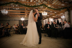 sugar pie honeybunch first dance song at pavilion barn wedding in raleigh north carolina at morris p