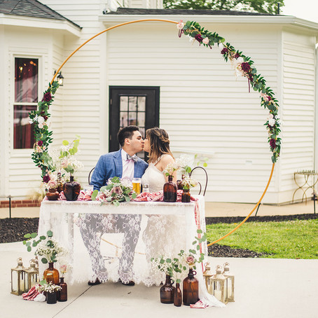 The Victorian: Youngsville Intimate Wedding
