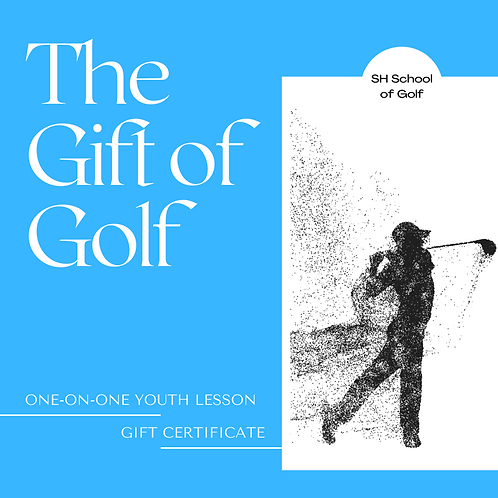 (17>) Youth Single Lesson Gift Certificate