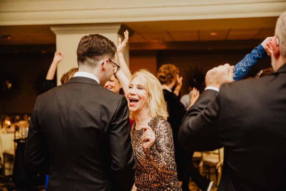 mother of the groom dance, mother of the groom dress, groom glasses, groomsmensuit, raleigh wedding,