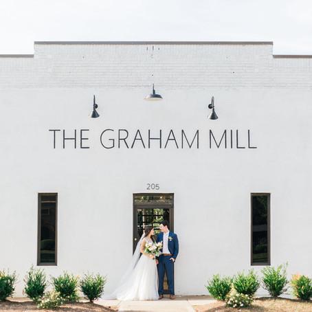 Graham, NC Wedding at The Graham Mill