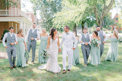 wedding party photo inspiration, longwood university, farmville virginia wedding