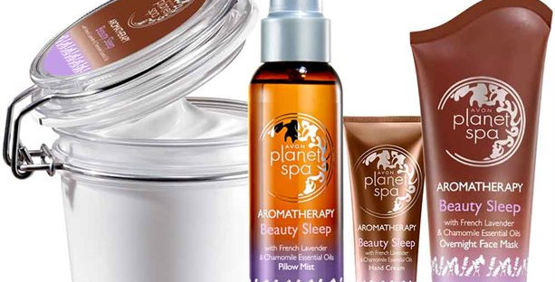 Aromatherapy Lavender & Chamomile Beauty Sleep Pamper Set