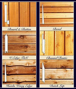 Diy Lumber Exterior Cedar Siding Mill Direct Shipping
