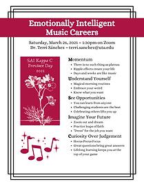 Emotionally Intelligent Music Careers (1
