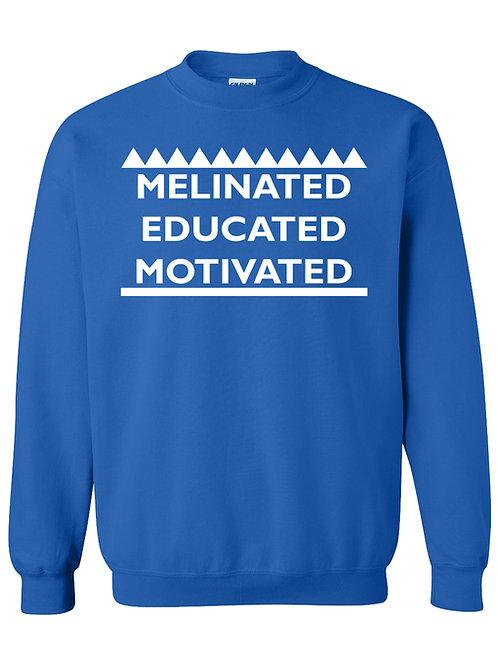 Melinated, Educated, Motivated!