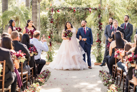 Ceremony at Los Angeles River Center and Garden