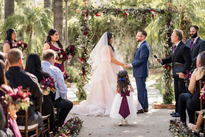 Wedding Ceremony at LA River Center