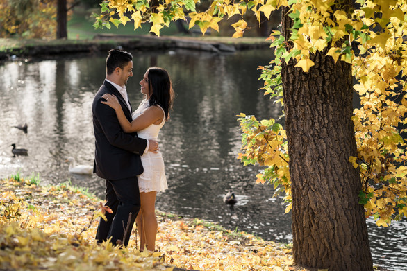 Engagement Shoot in Ford Park