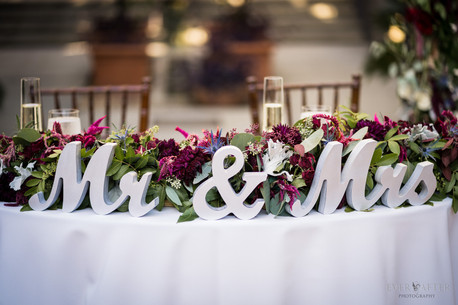 Sweetheart Table LA River Canter Wedding