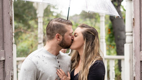 Rainy Day Engagement Photos | Temecula California