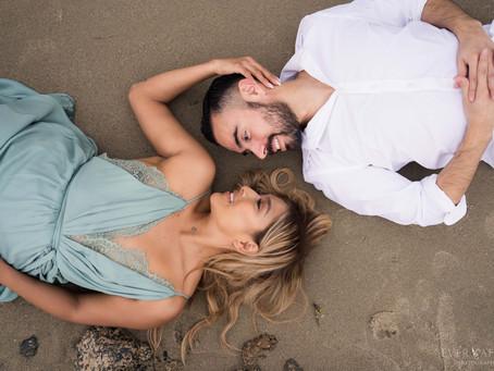10 Beach Inspired Poses | Laguna Beach Engagement Photos