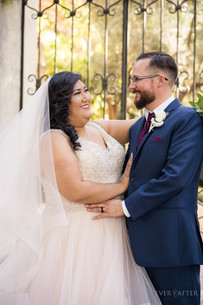 LA River Center and Gardens Wedding couple