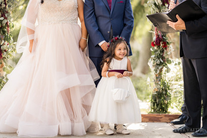 Flower Girl at LA River Center