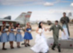 Riverside March Air Field Museum Wedding