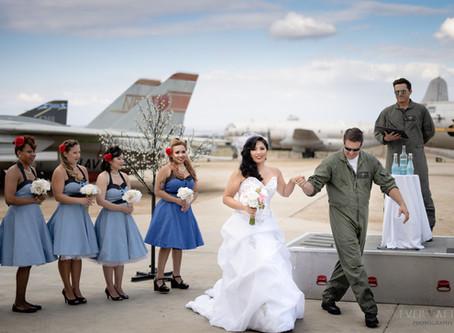 1950's Style Wedding | Riverside California