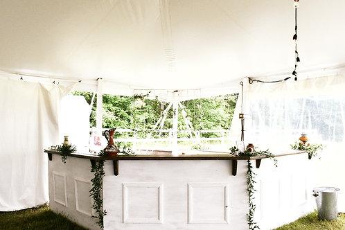 White Panel Bar