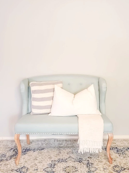 Tiffany Blue Settee