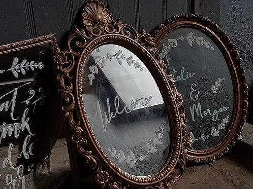 Gilded Mirror Sign Package