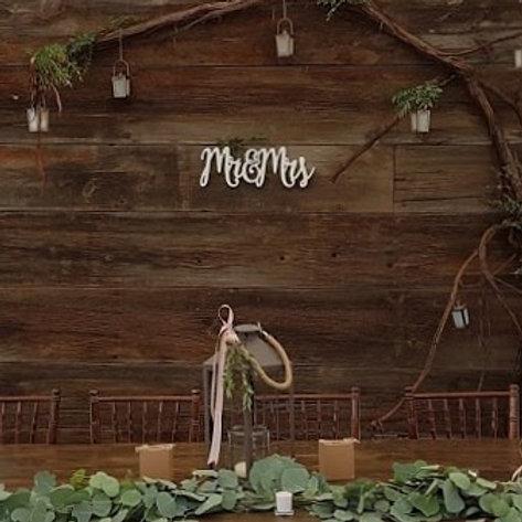 Barn Board Backdrop