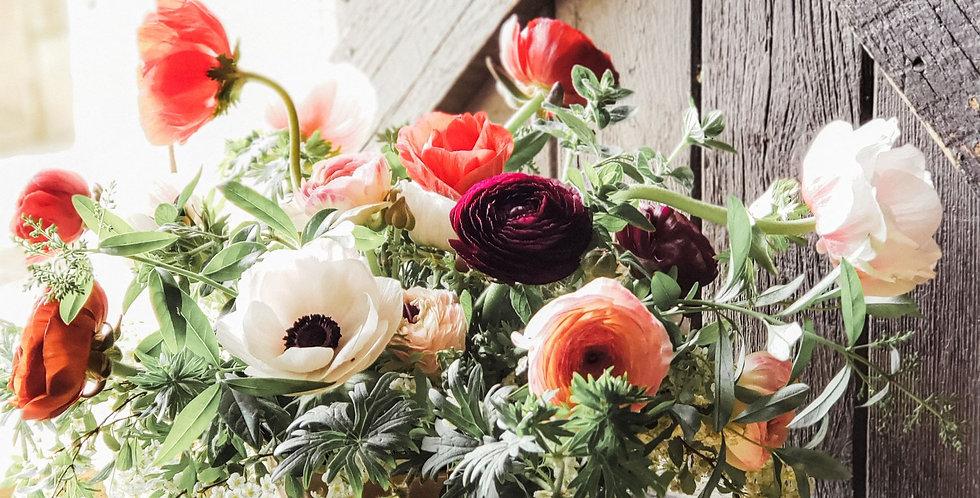 Heart of Georgian Bay flower arrangement