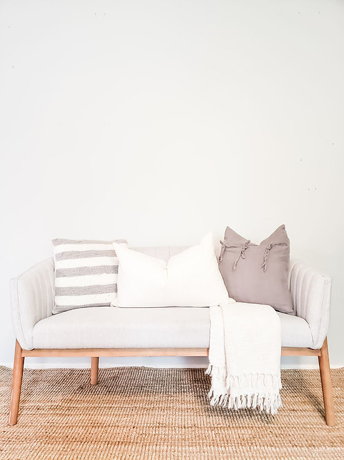 Dove Grey Loveseat