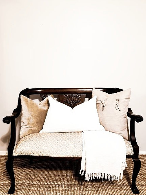 Champagne Pineapple Settee