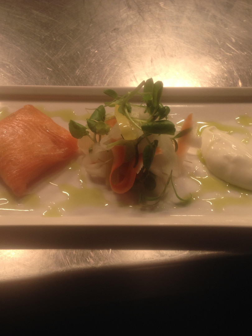 Smoked Salmon & Crab Parcel