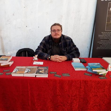 Foire du livre de Saint-Rémy, 15 septembre 2019