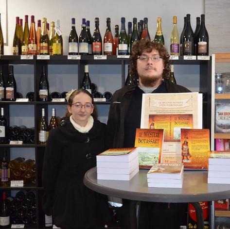 Présentation du premier tome du Mystère de Botassart à la librairie Lejeune de Trooz, 16 novembre 2017